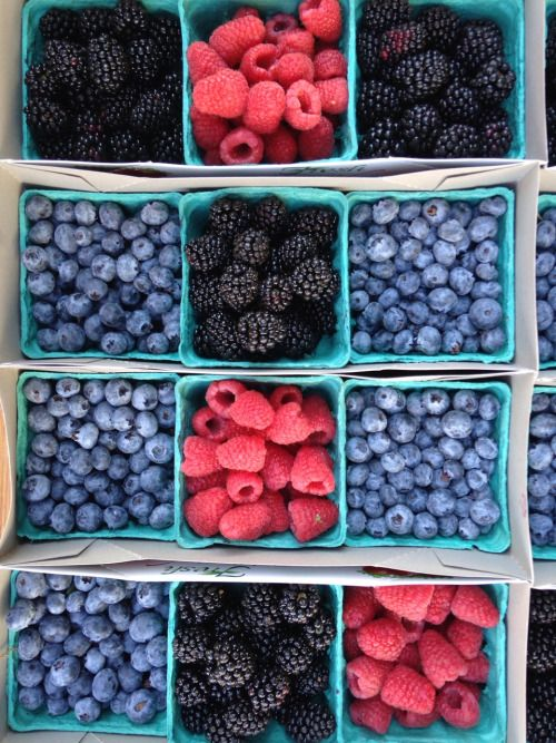 Summer berries - take your pick.