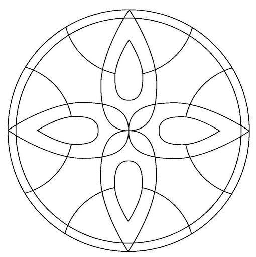 Mandalas De Profesiones Mandalas Para Colorear Mandalas Patron De Mosaico