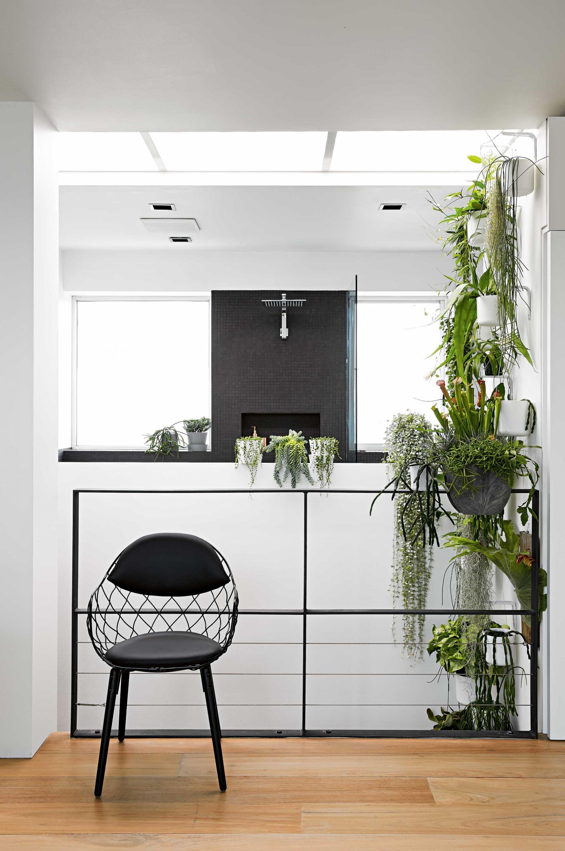 stair-landing-green-wall-sept15 | all over | Pinterest | Stair ...