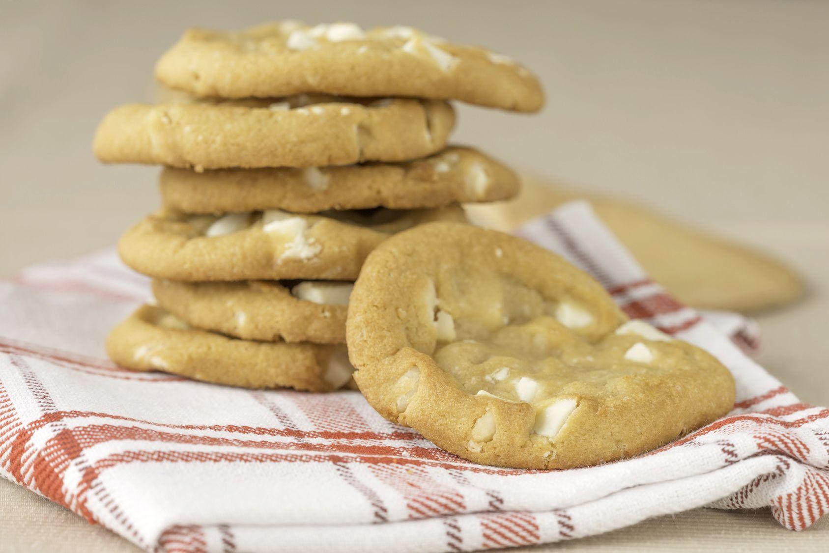 Cookies Au Chocolat Blanc Moelleux