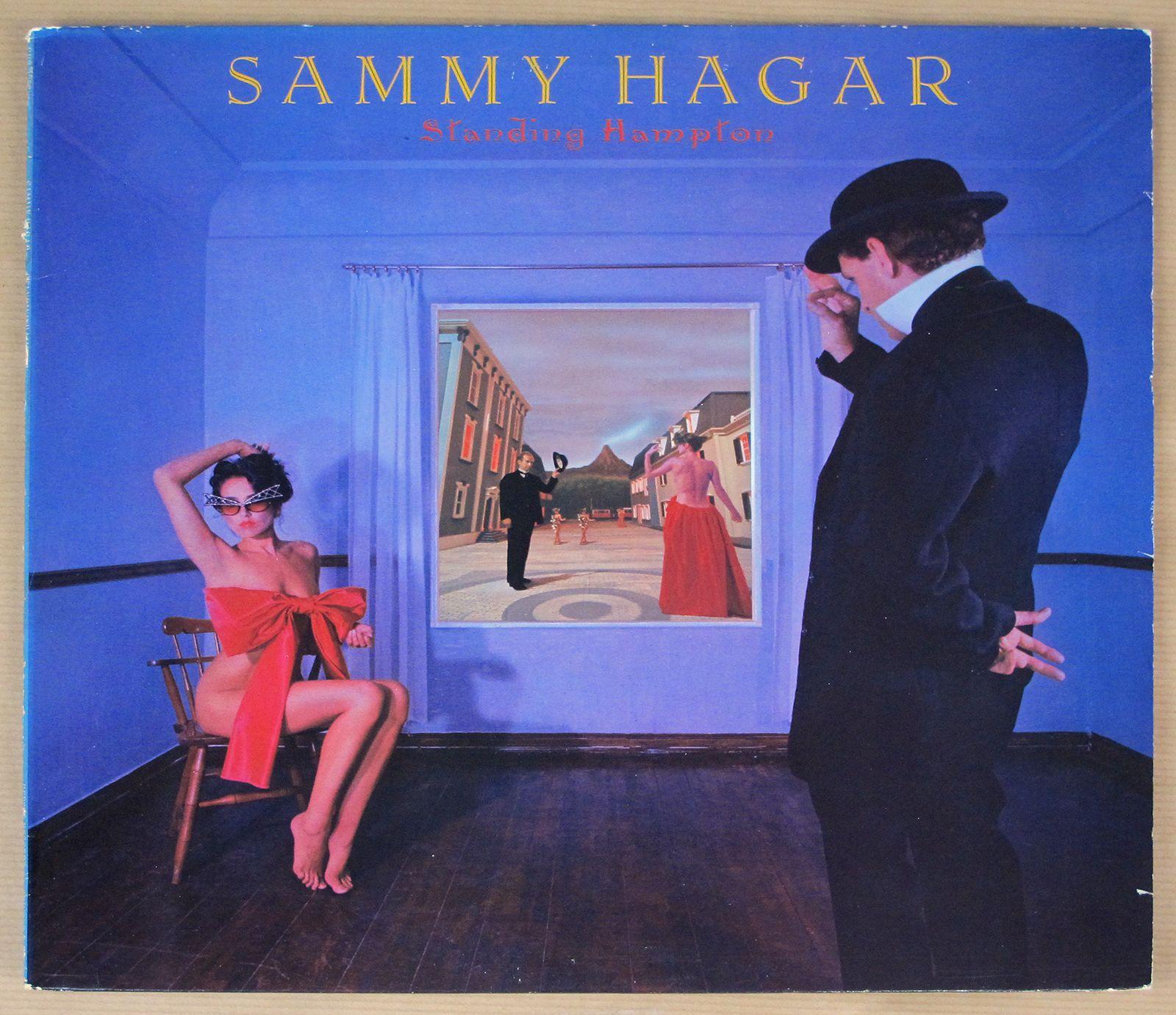 Sammy Hagar Standing Sammy Hagar Album Covers Rock Album Covers