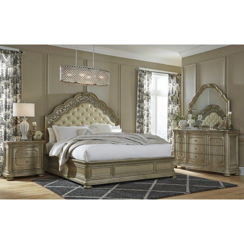 Osterman Standard Configurable Bedroom Set In 2020 Bedroom Set Bedroom Panel Bedroom Sets
