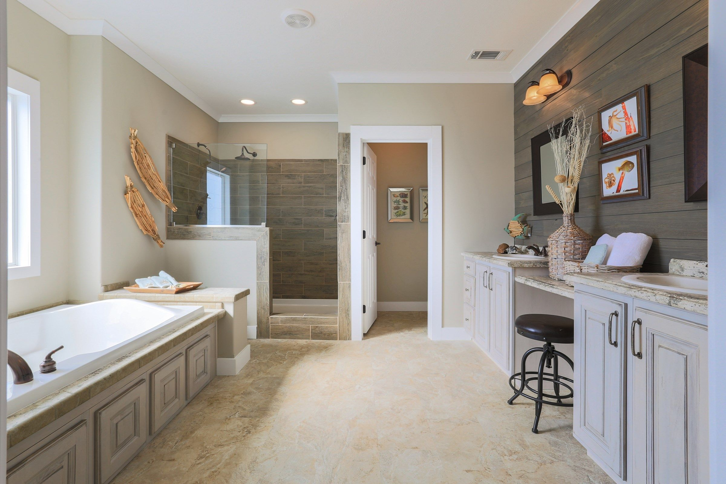 The IMP 9300 Master Bathroom. This Manufactured Mobile