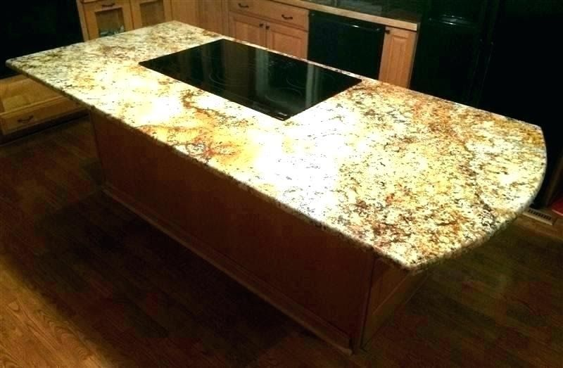 How much granite overhang without support kizer co kitchen