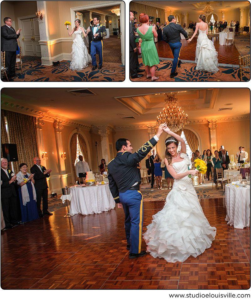 Wedding Reception At The Seelbach Hilton In Louisville Kentucky