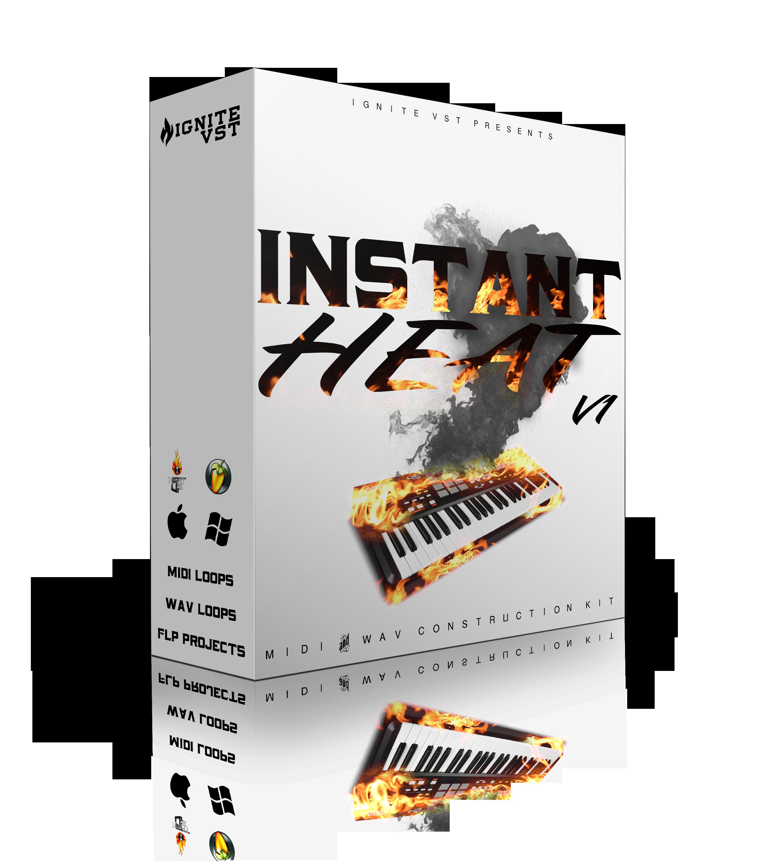 INSTANT HEAT V1 2020 Producer Bundle in 2020 Sampler
