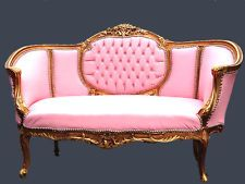 ANTIQUE FRENCH LOUIS XVI SOFA/COUCH/ BENCH 1880