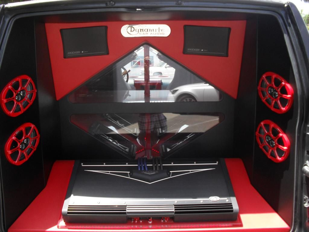 1956 chevy bel air dynomite classic muscle car for sale in - Dynamite Car Audio Kicker Demo Van Mobileaudio Subwoofers Warhorse Caraudio
