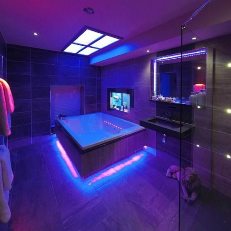 Beautifully Admirable Hot Tub Room Decor Ideas Hot Tub Room Home Spa Room Luxury Homes Dream Houses