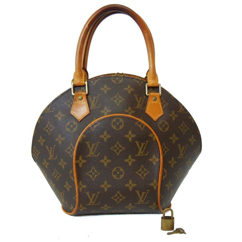 6509dc780015 LOUIS VUITTON Monogram ELLIPSE PM Handbag Purse Sac LV Bag Lock Key   LouisVuitton  Satchel