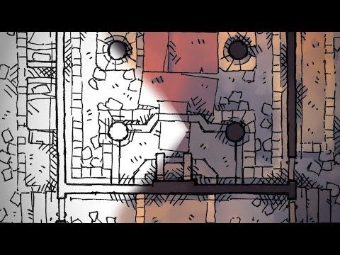 How I Paint Digital Battle Maps for play in D&D and similar RPGs