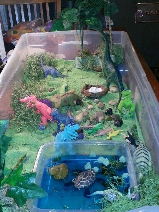 Dinosaur playscape #dinosaur
