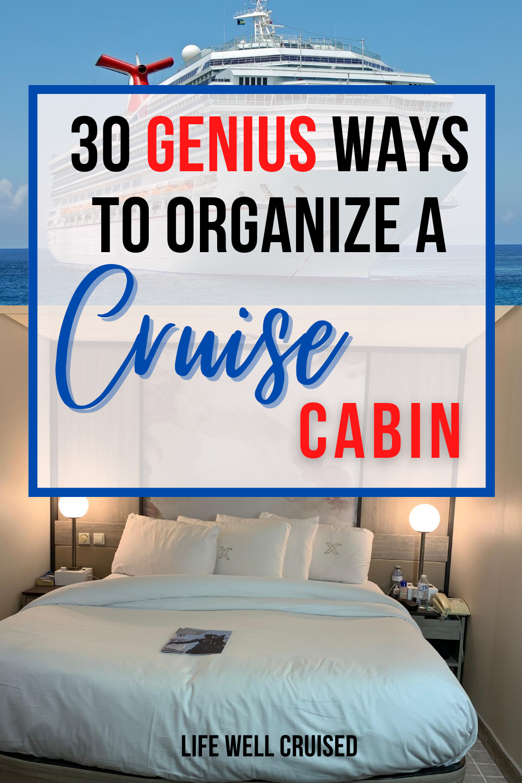 30 Cruise Cabin Hacks Every Cruiser Needs To Know Cruise Tips Cruise Planning Cruise