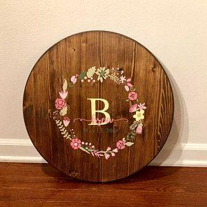 Photo of FLORAL WREATHS, hand-drawn wreaths, doodle clipart, floral wreaths, rustic, drawn wreaths, png, svg, vector wreaths, wedding