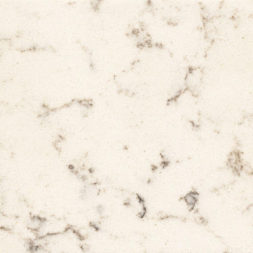 Art Exhibition Quartz Countertop Sample in Lyra