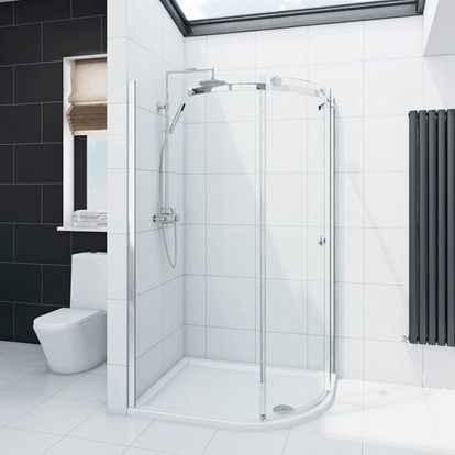 Infiniti 8mm Single Sliding Door Right Handed Quadrant Shower Enclosure 1000 X 800 Offer Pack Quadrant Shower Enclosures Quadrant Shower Shower Enclosure