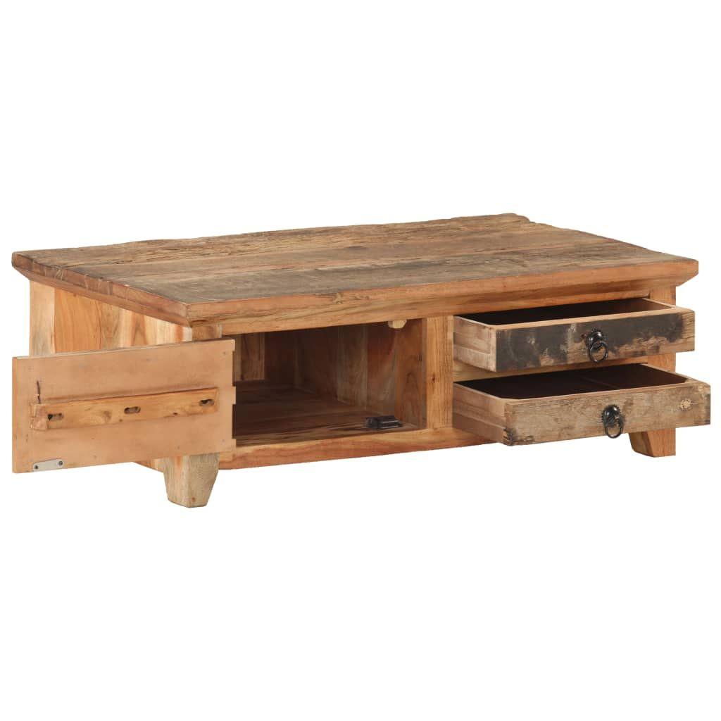 vidaXL Coffee Table 90x50x31 cm Solid Reclaimed Wood