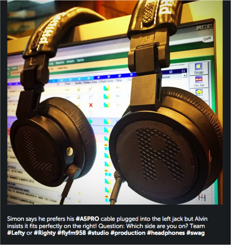 What a dilemma. Are you left or right jack? #headphones #music #A5PRO #studio