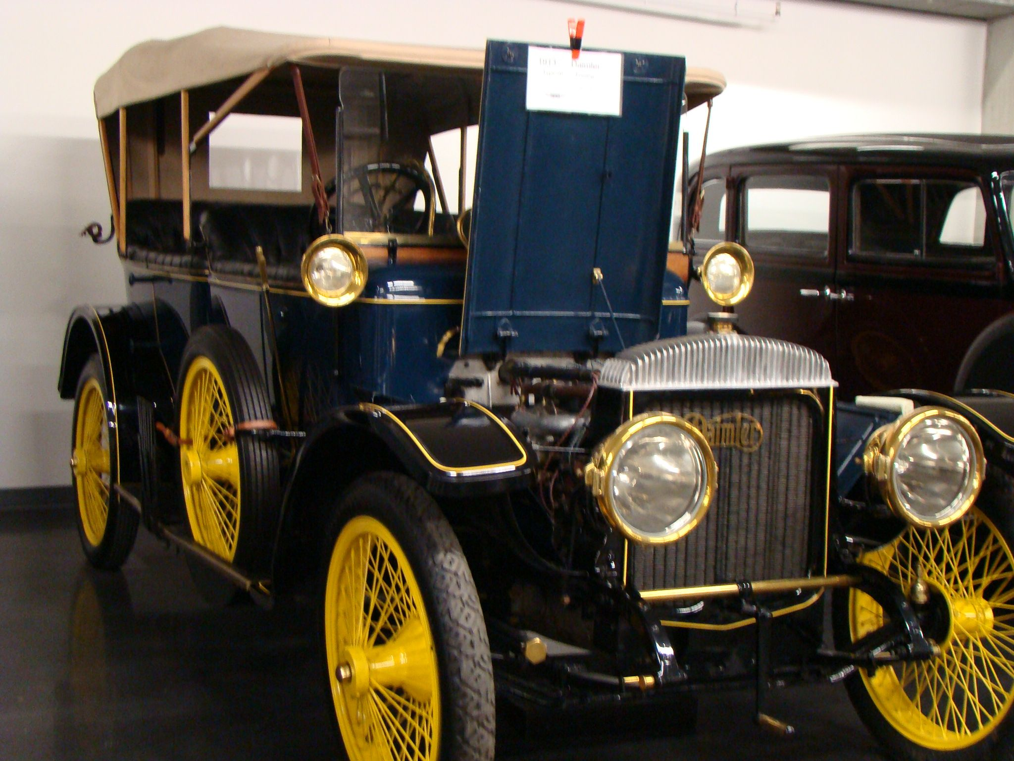 1913 daimler brought to you by the car insurance agents at