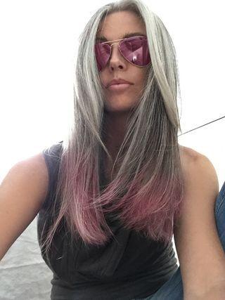 Misery Annika Von Holdt Long Gray Hair Grey Hair Looks Hair Looks