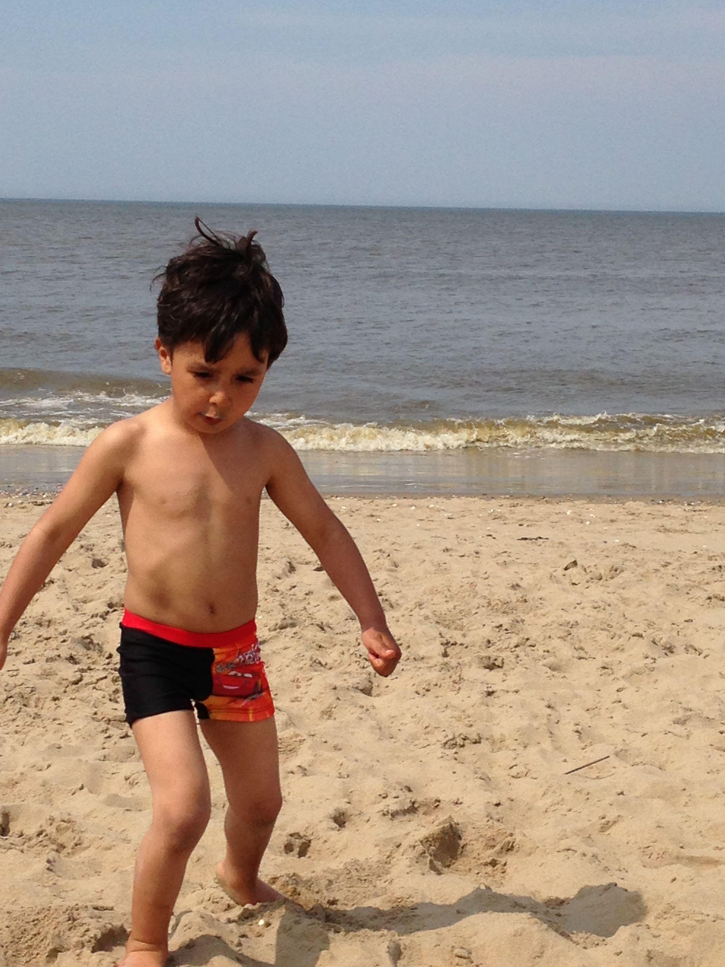 Op het strand 3 mei 2013