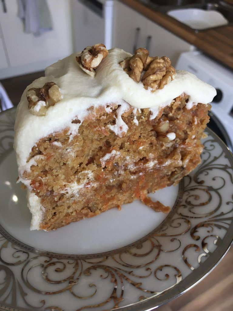 Carrot cake with cream cheese frosting recipe vegan