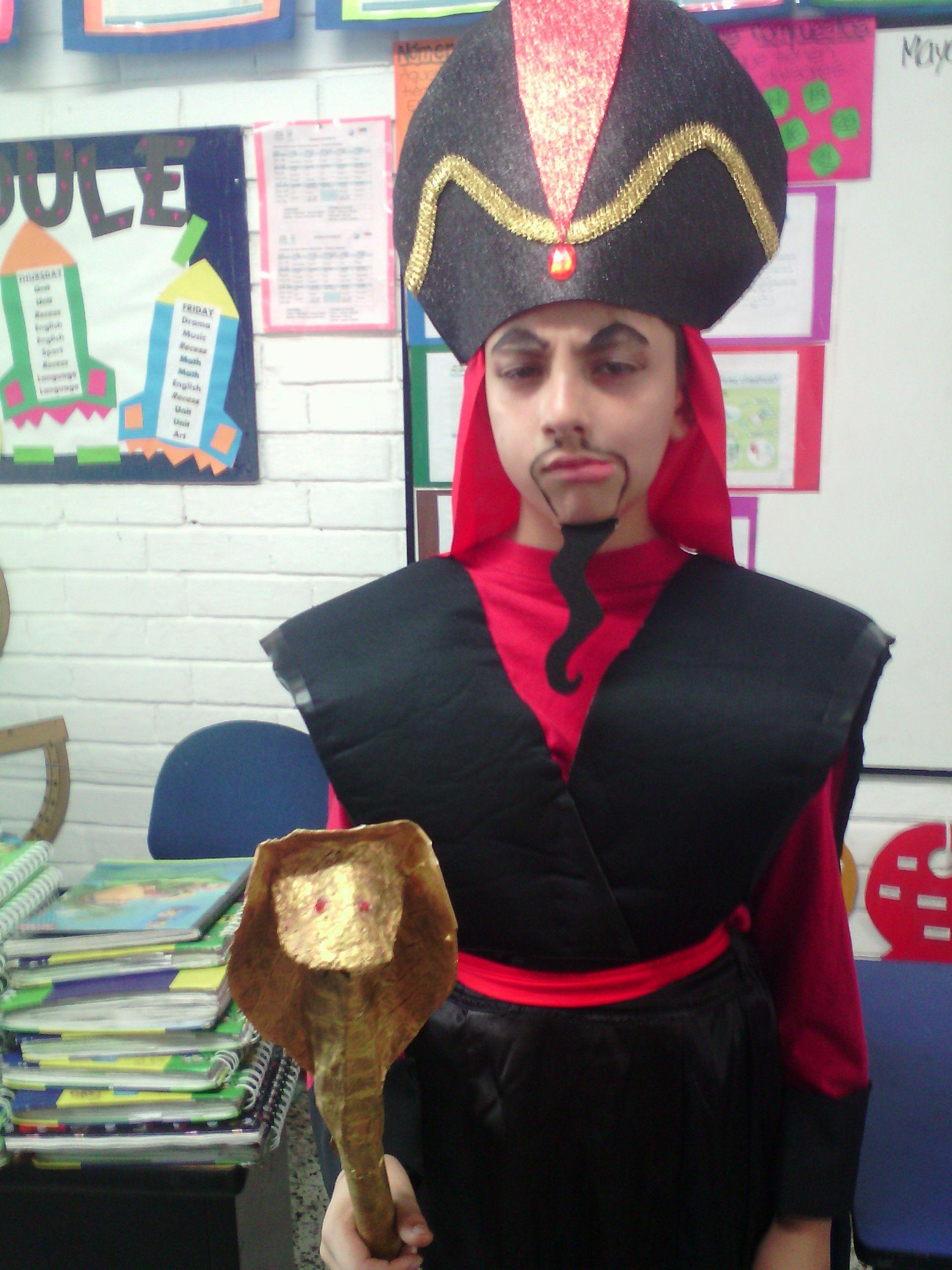 Jafar´s Costume DIY - Disfraz de Jafar para obra escolar.  303a819332d