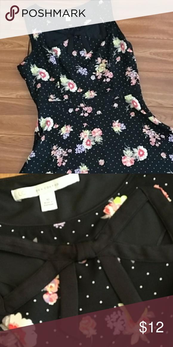 Lauren Conrad Black Floral Dress My Posh Closet Pinterest