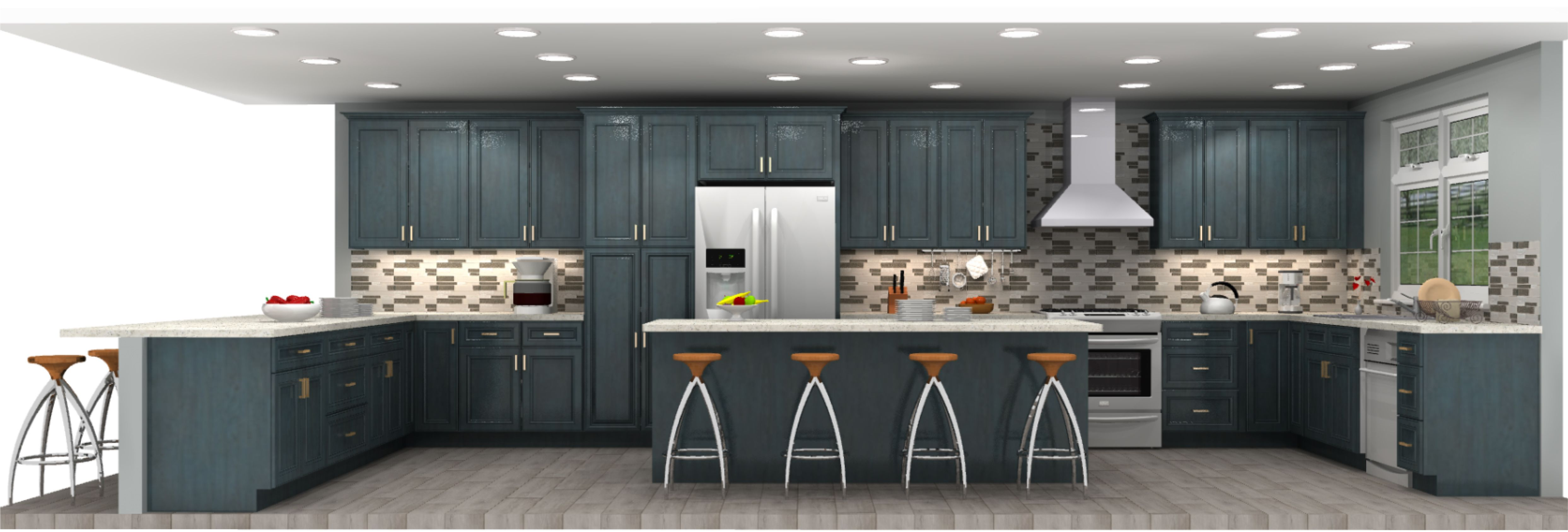 get a free 3d kitchen design today with lily ann cabinets