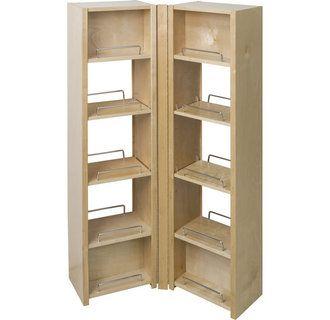 Hardware Resources Pso45 Adjustable Shelving Kitchen Models Shelves 10 inch wide storage cabinet