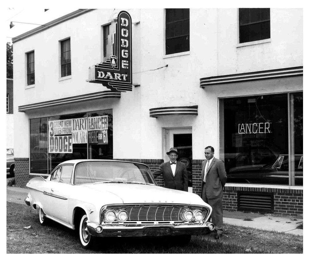 1961 Reed Bros. Dodge Dealership, Rockville, Maryland