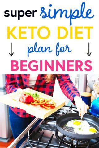 A Super Simple Keto Diet Plan for Beginners - Lifestyle Body #diet #weightloss #ketorecipes #dietplan #loseweight #weightlosstransformation #ketodiet #ketodietforbeginners