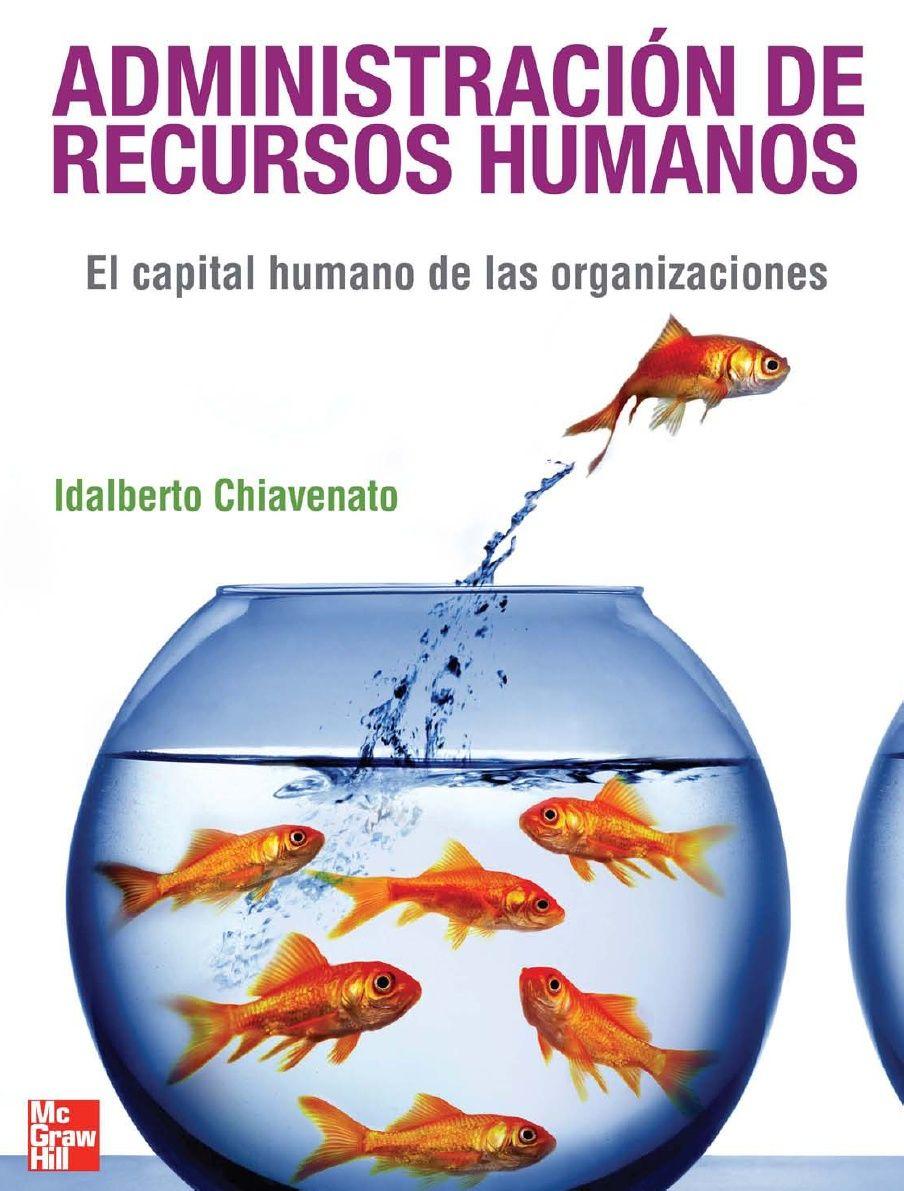 (Libro) Administracion De Recursos Humanos - Chiavenato ... @tataya.com.mx 2021