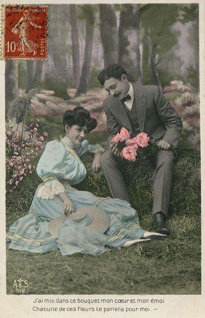 cartes postales d'amour anciennes - Buscar con Google | carte vintage | Pinterest | Postale ...