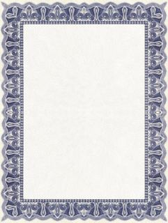blank certificate templates blank certificates paper a4 90gms x30