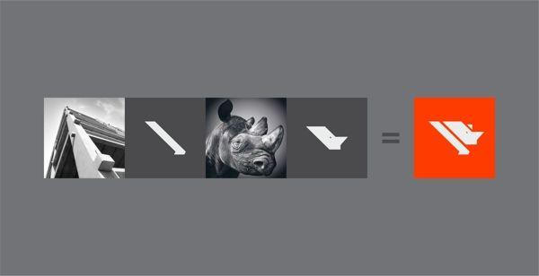 Rebrand Rotesma Indústria de Pré-Fabricados de Concreto by Estúdio Alice, via Behance