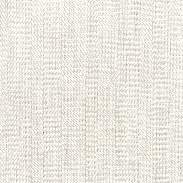 ivory belgian linen herringbone fabric