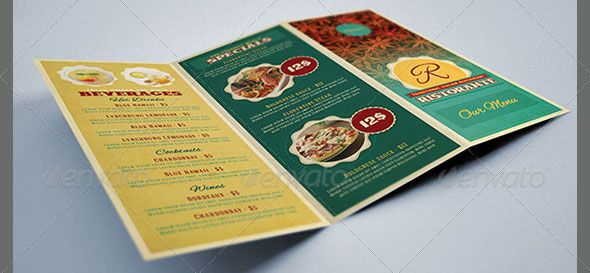 Trifold Menu  Google Search  Research For Classes