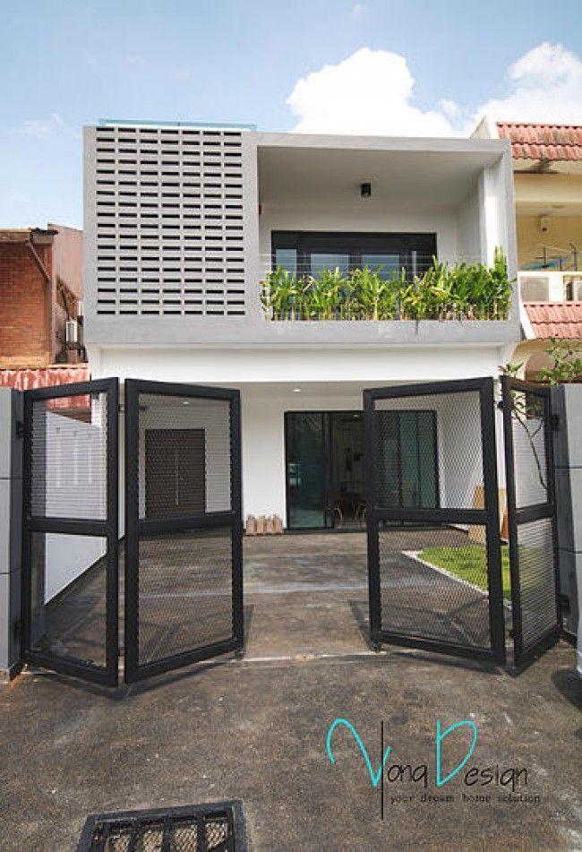 Simple Bungalow House Design With Terrace In Philippines Arsitektur Rumah Denah Rumah Rumah Impian