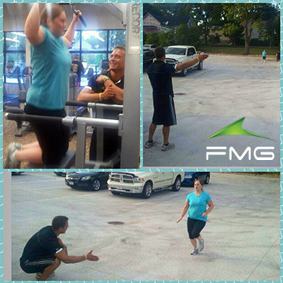 Jessica Kilcoyne Is Working Hard Out At Anytime Fitness Platteville With Fmg Personal Trainer Ian Ewi Personal Fitness Trainer Anytime Fitness Workout Results