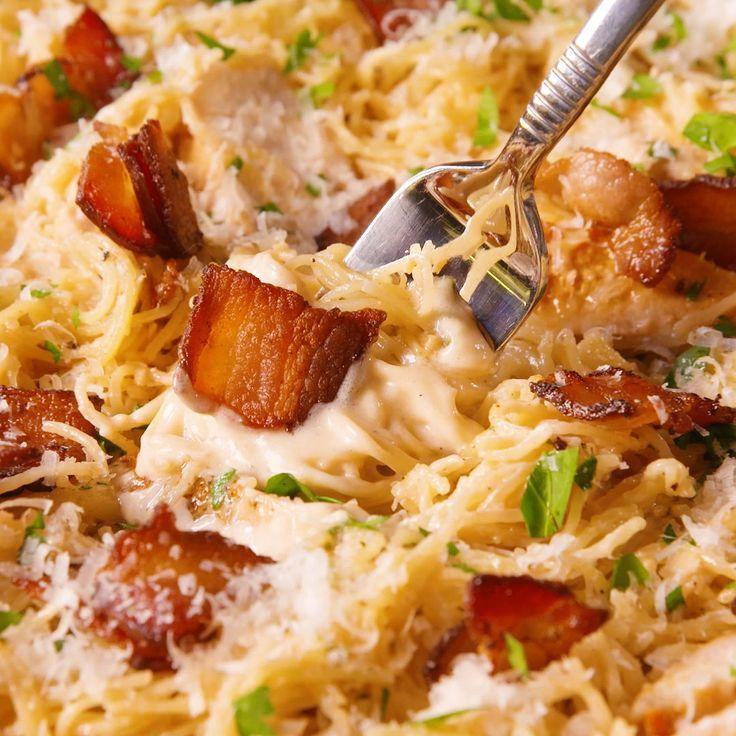 Chicken Caesar Angel Hair Pasta  - muss ich nach kochen - #Angel #Caesar #Chicken #Hair #ich #kochen...