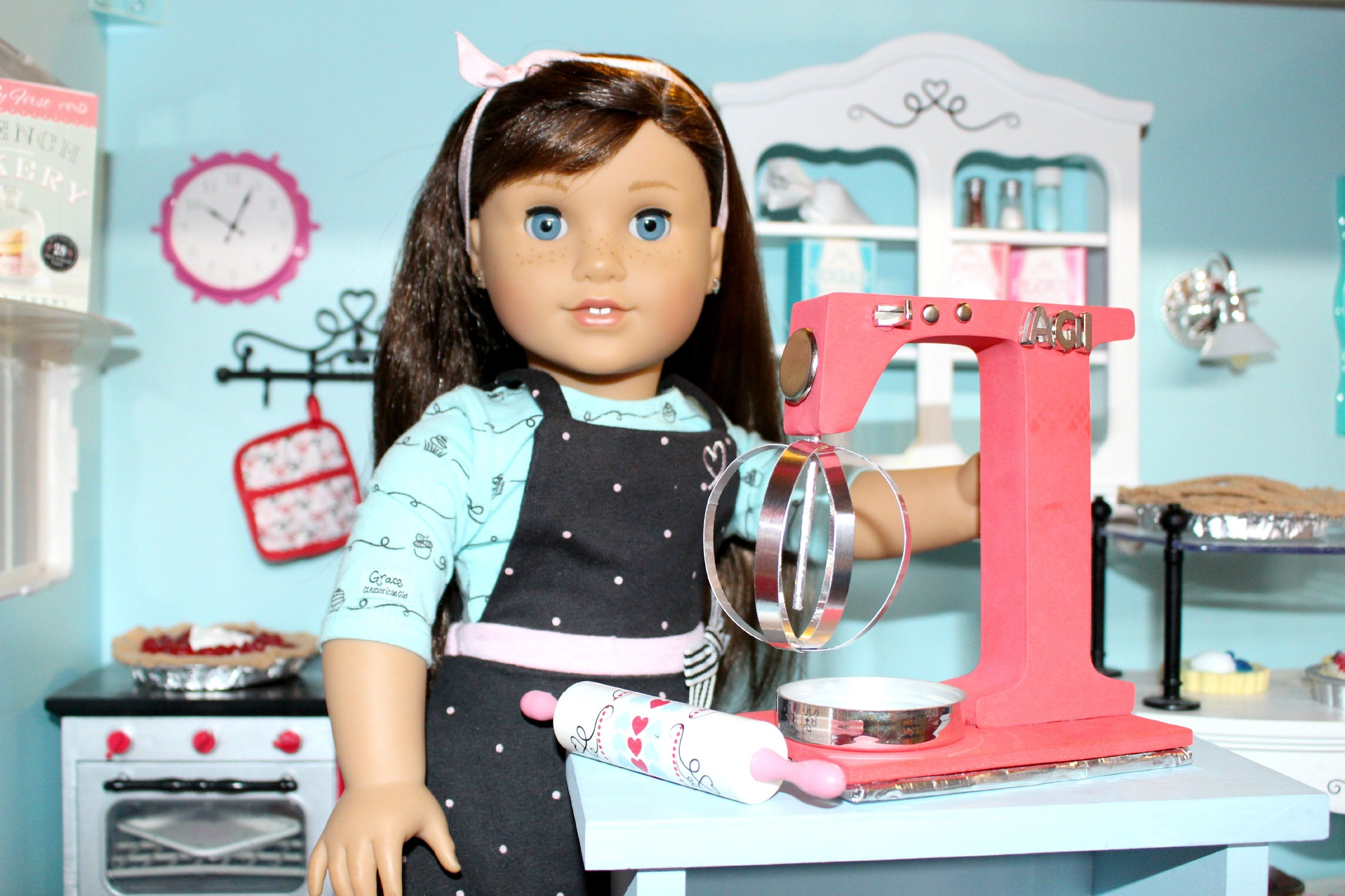 How to make American Girl Mixer | DIY American Girl Crafts ...