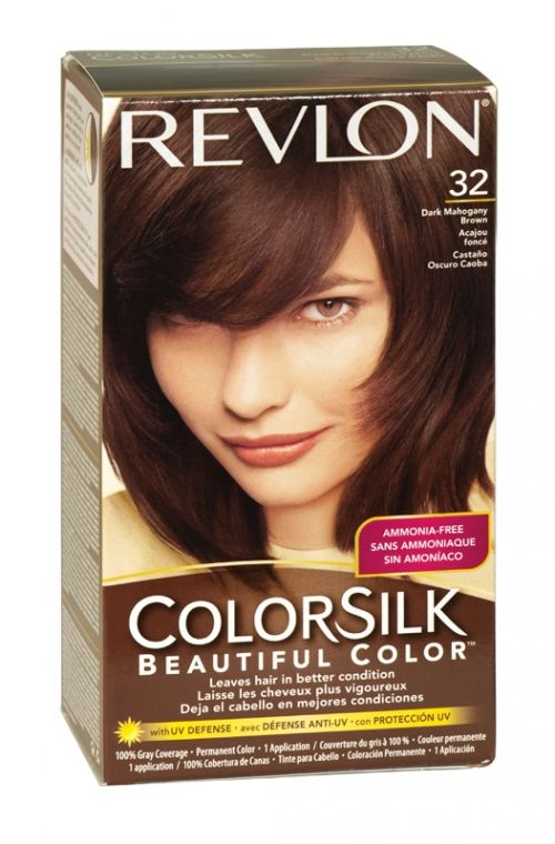 Revlon Colorsilk Hair Colour 32 Dark Mahogany Brown Beauty
