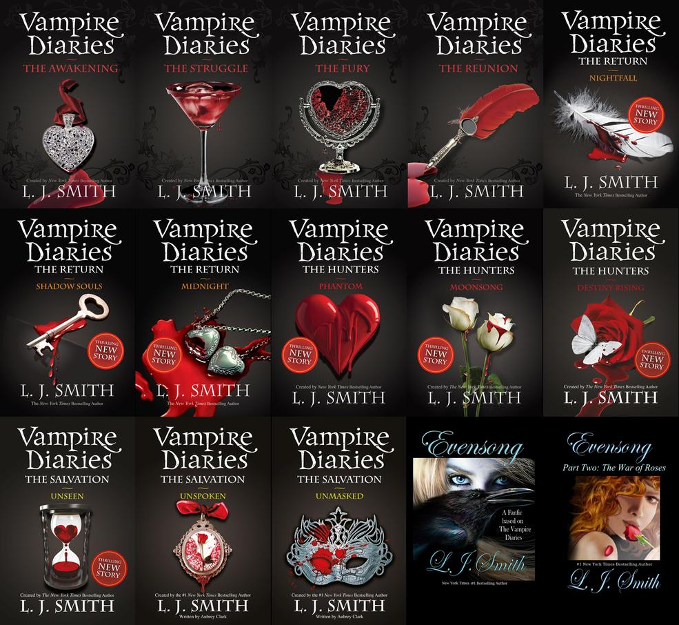 The Vampire Diaries Novel Series Vampire Diaries Vampire Diaries Books Vampire Books Series