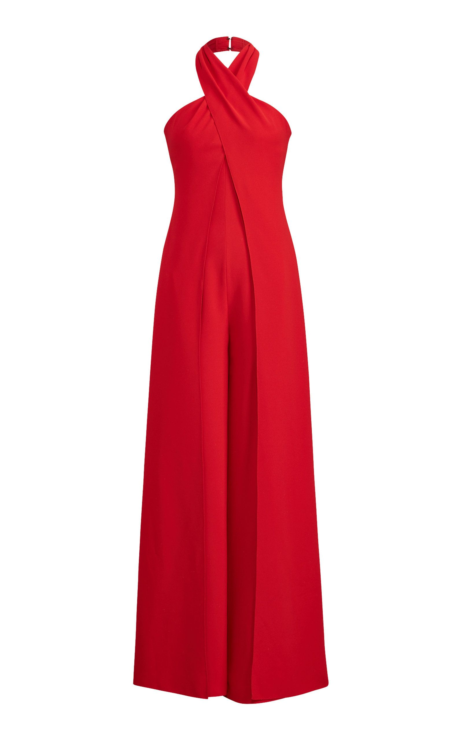 05bcc7ff1fe Crepe Cady Adelaide Jumpsuit by RALPH LAUREN Now Available on Moda Operandi