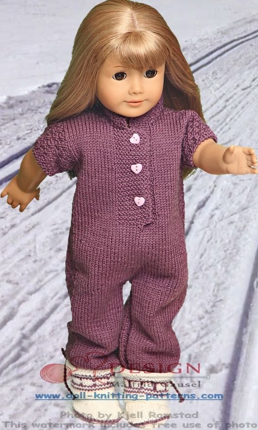 Knitting Patterns For 18 Inch Doll Clothes Ksit Pinterest