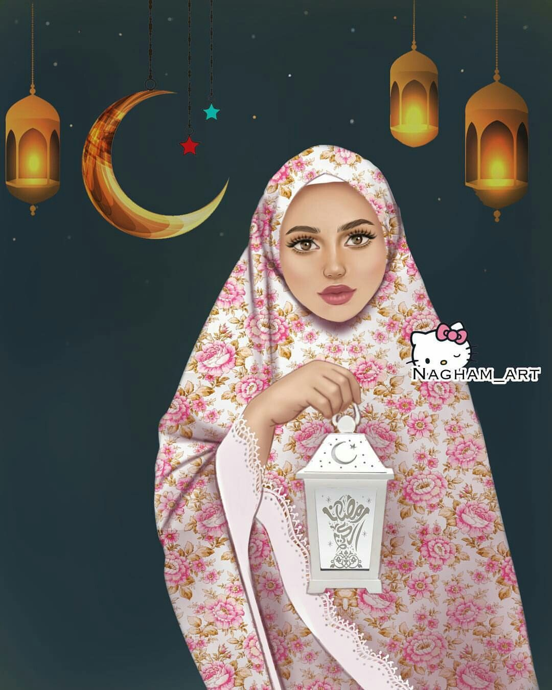 Pin By Iana On Ramadan And Eid Purple Aesthetic Background Girly Art Girly Pictures