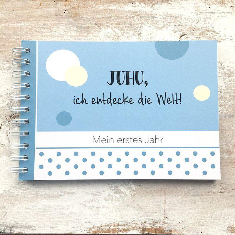 mintkind Erinnerungsbuch Meine Patentante und Ich I Momente und Erinnerungen festhalten I Fotoalbum Geschenkidee DIY