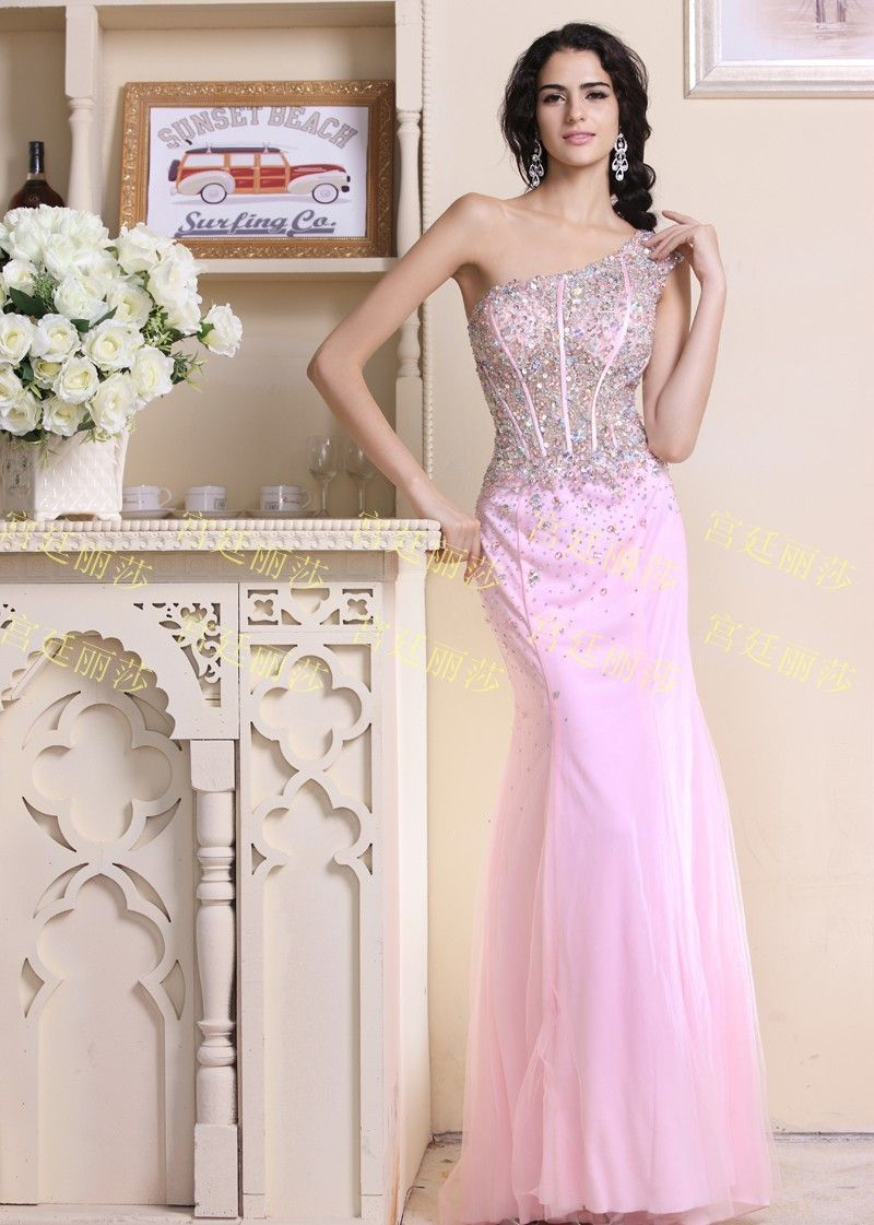 luxury crystal princess graceful A-line.Empire.ball gown Bowknot ...
