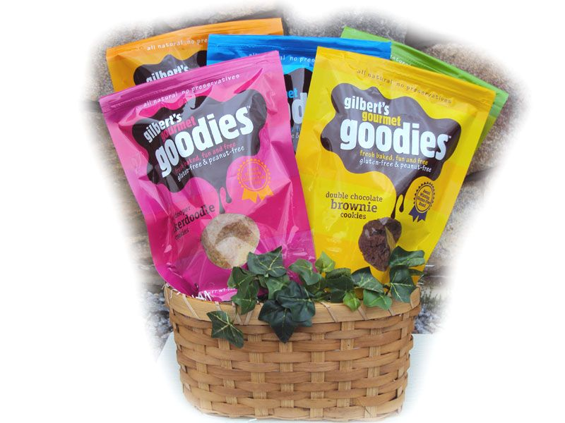 Gluten free cookie basket for easter gluten free easter baskets gluten free cookie basket for easter negle Choice Image